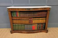19th Century Rosewood Open Bookcase (5 of 13)