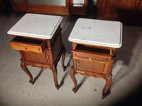 Pair of French Mahogany Bedside Cabinets (6 of 8)