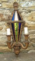 Pair of Antique Venetian Gilt Wall Lights (2 of 5)