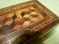 Genuine Tunbridge Ware Box. 100% Original. c1875 (5 of 9)
