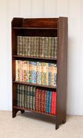 Oak Open Bookcase c.1920 (7 of 8)