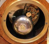 Mid Victorian Drumhead Visible Escapement Mantel Clock (10 of 11)