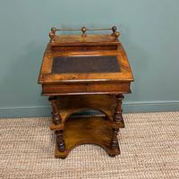 Stunning Victorian Walnut Antique Davenport Whatnot (2 of 10)