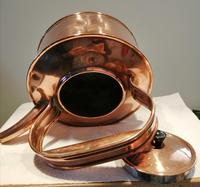 Antique Copper Advertising Kettle (3 of 7)