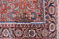 Antique Heriz square carpet 383x311cm (2 of 9)
