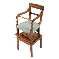 Georgian Mahogany Child's High Chair (2 of 8)