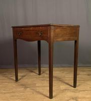 George III Oak Single Drawer Side Table