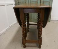 Good Solid Oak Victorian Gateleg Table (2 of 7)