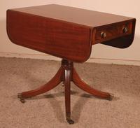 Small Pembroke Table 19th Century in Mahogany (4 of 12)