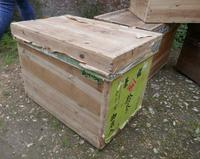 Japanese Pine Tea Chest with Lid (3 of 5)