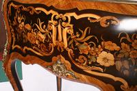 19thc Louis XV Style Marquetry Bureau en Pente (3 of 14)