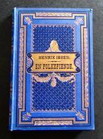 1882 1st Edition En Folkefiende by Henrik Ibsen
