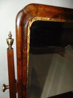 George II Veneered Walnut Toilet Mirror (5 of 6)