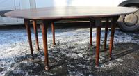 1900s Mahogany Wakes Table with Pad Feet (4 of 5)