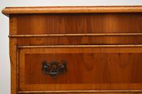 Antique Georgian Style Yew Wood Chest on Chest (8 of 13)