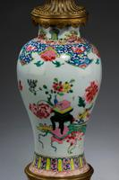 Pair of 19th Century Canton Porcelain Lamps (4 of 5)