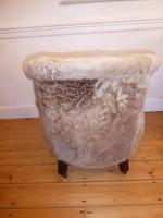 Hide Upholstered Tub Chair (4 of 6)