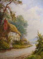 Watercolour Mill Cottage Reigate Listed Artist H Rawson (12 of 13)