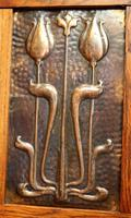 Small Proportioned Oak Arts & Crafts Wardrobe (6 of 9)