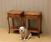 Pair of French Cherrywood Tables (4 of 11)