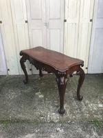 High quality early Victorian sofa / centre / console table (14 of 14)
