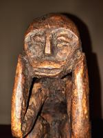 Early 20th Century African Carved Wooden Stylized Sculpture (2 of 12)