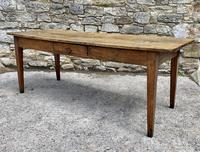 Large French Sycamore & Elm Farmhouse Table (8 of 21)