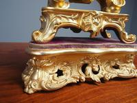 Louis XV Style Ormolu Mantel Clock by Raingo, Paris (5 of 16)