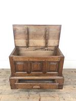 18th Century Style Welsh Oak Coffer Bach (3 of 12)