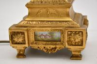 Pair of Antique French Porcelain & Gilt Metal Table Lamps (6 of 12)