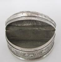 Beautiful Antique Silver Shan States Burmese Lime Box c.1900 (7 of 8)