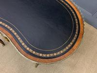Victorian Kidney Shaped Rosewood Writing Table (18 of 18)