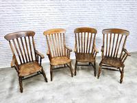 4 x Windsor Lathback Armchairs (2 of 5)