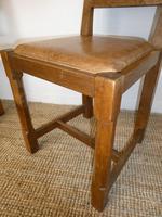 Yorkshire ( Lizardman) Oak Table & 4 Chairs (7 of 13)