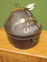 Antique Military Hat Tin Trunk, Lieutenant P Montgomery, A Quirky Bread Bin? (2 of 12)