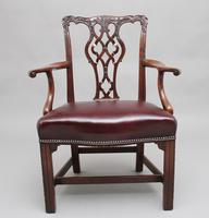 19th Century Mahogany Chippendale Style Chair (6 of 7)