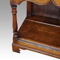 Georgian Pot Board Oak Dresser Base (7 of 13)