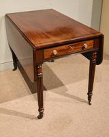 Superior Quality Regency Mahogany Pembroke Table (6 of 7)