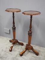 Pair of Queen Anne Style Torcheres / Candle Stands (9 of 9)