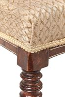 Set of 4 Edwardian Rosewood Inlaid Dining Chairs (5 of 7)