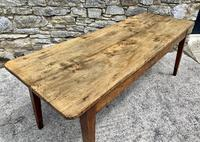 Large French Sycamore & Elm Farmhouse Table (15 of 21)
