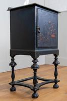 Attractive Late Victorian Chinoiserie Painted Side Cabinet