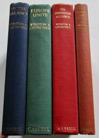 1948-1961 Post War Speeches by Winston S. Churchill 4 Volumes, 1st Editions with Dust Jackets (2 of 5)