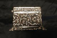 Edwardian Irish Silver Plated Trinket or Jewellery Box (8 of 12)
