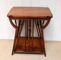 Small Arts & Crafts Walnut Table (8 of 8)