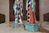 Charming Near Pair of 18th Century Chinese Export Immortals - Harlequin (4 of 11)