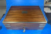 Georgian Mahogany Jewellery / Writing  Box