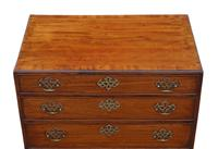 Georgian 19th Century Mahogany Chest of Drawers - Caddy Top c.1800 (3 of 8)