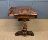 Early Victorian Rosewood Library Table (3 of 15)