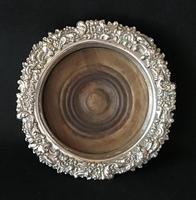 Victorian Silver Plated Bottle Coaster (4 of 4)